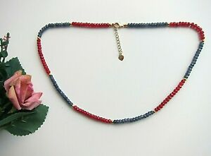 Sapphire Ruby Emerald or Other Gems Abacus Necklace or Bracelet.