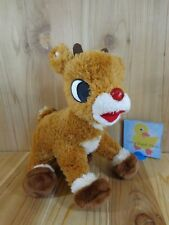 """Rudolph the Red Nosed Reindeer 12"""" Plush Stuffed Animal 2005 Commonwealth"""
