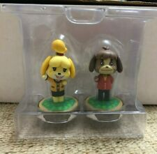 Animal Crossing Isabelle Winter Outfit & Digby Amiibo Brand New Never Used
