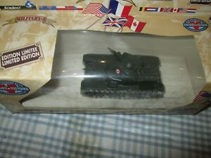 Solido Military- R35 Char Renault Tank -Limited Edition -Boxed