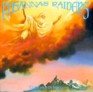 Rosanna's Raiders - Clothed In Fire LP (Refuge,1989) rare Heavy Metal, sealed