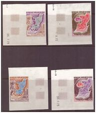 Congo (Brazzaville) MNH 1973 Stamp Exhibition set imperf. mint stamps