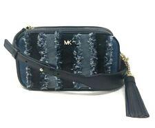 Michael Kors Crossbodies Denim Small Camera Bag Crossbody Handbag Purse $298