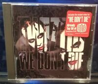Twiztid - We Don't Die CD Single rare insane clown posse dark lotus blaze icp