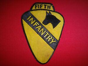 US 5th INFANTRY Regiment 1st CAVALRY Division Vietnam War Patch