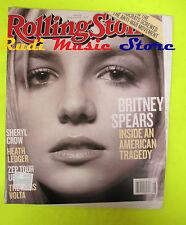 ROLLING STONE USA MAGAZINE 1046/2008 Britney Spears S.Malkmus Sheryl Crow No cd