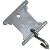 Camco Gray RV Party Light Holder Slides Into Awning Roller ...