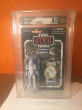 Star Wars Vintage Collection 2011 Clone Trooper VC 15 AFA U 9.0 UNCIRCULATED