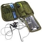 Condor MA16 Tactical MOLLE Passport ID Wallet Phone Pocket Pouch w/ USA Flag OD