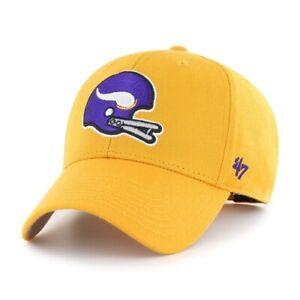Minnesota Vikings '47 MVP Legacy Logo Adjustable NFL Football Cap Hat