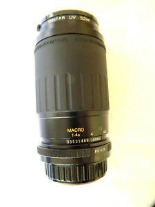 Vivitar Macro Lens 70-210MM F4.5-5.6 for Pentax PK-A/Ricoh Mount Tested