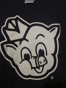 """NWT PIGGLY WIGGLY """"I'M BIG ON THE PIG"""" Purple LONG Sleeve Tee Size YOUTH L"""