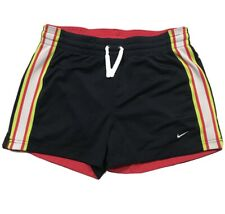 NIKE Shorts Small Drawstring Athletic Running Sport Pocket Reversible Blue Red