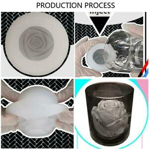 3D Rose Flower Silicone Mould Creative Homemade Fruit Mould Ice Y4M2