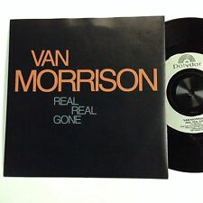 Van Morrison Real Real Gone Start All Over Again EXc 1990 Single Record(Them)