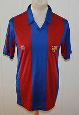 MEYBA 1984-1989 FC BARCELONA TRIKOT Gr MEDIUM SELTEN 100% Nylon