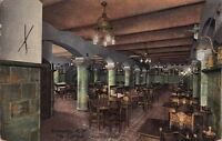 Postcard Rathskeller Powers Hotel Rochester NY