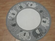 Elephanta A Grey Color Hand Tufted Modern Style Woolen Area Rug