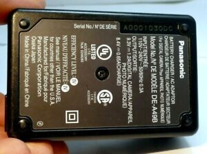 Panasonic DE-A49B Battery Charger AC adaptor Lumix