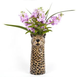 Quail Ceramics - Leopard Flower Vase - Large