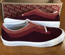 Men's Vans Sneakers Bold Ni Tri-Tone Red Size 11.5 NEW