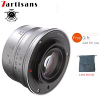7artisans 25mm F1.8 Manual Lens for Fuji FX-mount X-Pro1 X-Pro2 X-A1 T10