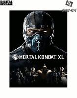 Mortal Kombat XL Steam Download Key Digital Code [DE] [EU] PC