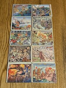 Lot of 1938 Gum Inc - Horrors of War cards.