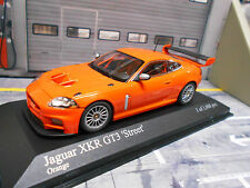 JAGUAR XKR X-KR GT3 Coupe Racing Street orange 2008 Minichamps S-Preis 1:43