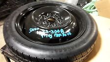 "10 11 12 13 14 15 TOYOTA PRIUS SPARE TIRE WHEEL DONUT 16"" 5X100 PLUG IN"