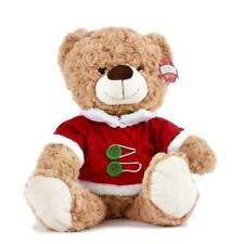BNWT Christmas Teddy bear with chocolates or sweets gift cellophane wrapped