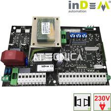 Centrale scheda universale per cancelli ante battenti 230Vac inDeM FAAC CAME BFT