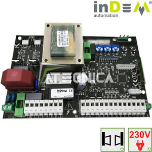 Central Card Universal For Gates Door Swing 230Vac indem faac came bft
