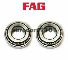 Ferrari 512 BB FAG (2) Front Outer Rear Wheel Bearings SET16 KLM12749LM12711B