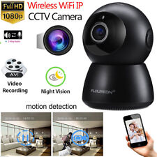 1080P CCTV Panoramic IP Cámara CMOS Seguridad Inalámbrica WIFI Visión Nocturna