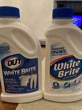 (2) White Brite 28 Oz. Bottles Laundry Whitener