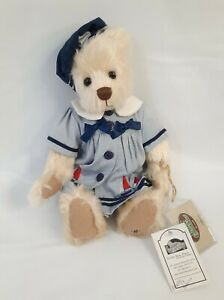 "Cottage Collectibles Ganz Teddy Bear ""Molly"" Boat Outfit 11"""