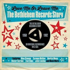 LOVE ME OR LEAVE ME-THE BETHLEHEM RECORD STORY 1958-1962-60 ORIGINALS - NEW 3CD