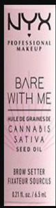 100% Authentic NYX Bare With Me Sativa Seed Oil Brow Gel or Lip or Primer