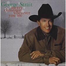 Merry Christmas Wherever You are - Strait,George CD - Album CD Endommagé Boîtier