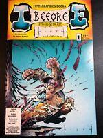 I Before E #1 – 1st Print Comic 1991 Fantagraphics Sam Kieth – HTF – Ships Free