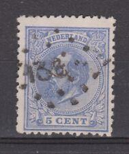 NVPH Netherlands Nederland 19 CANCEL MOERDIJK-ANTWERPEN (138) Willem III 1872