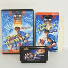 STREET FIGHTER II 2 DASH PLUS ' Plus Mega Drive Sega 9322 md