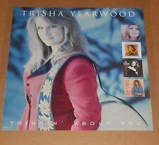 Trisha Yearwood Thinkin' About You Poster 2-Sided Original Promo 18x18