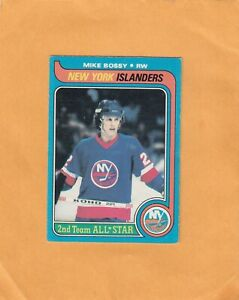 1979-80 O PEE CHEE MIKE BOSSY AS2 NO:230 Ex cond+   see scan   LOT 89       a