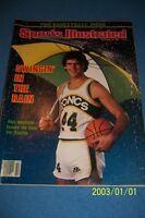 1980 Sports Illustrated SEATTLE Supersonics PAUL WESTPHAL No Label PHOENIX SUNS