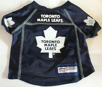 NEW TORONTO MAPLE LEAFS PET DOG PREMIUM JERSEY w/NAME TAG ALL SIZES LICENSED