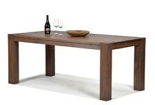 esstisch esszimmer massivholz tisch 180x90cm pinie farbton cognac braun