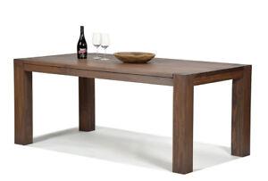 Esstisch 180x90cm Cognac braun Rio Bonito Esszimmer Massivholz Pinie Tisch