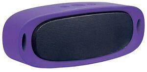 NEW Manhattan Sound Science ORBIT Bluetooth Speaker PURPLE Wireless 162371 small